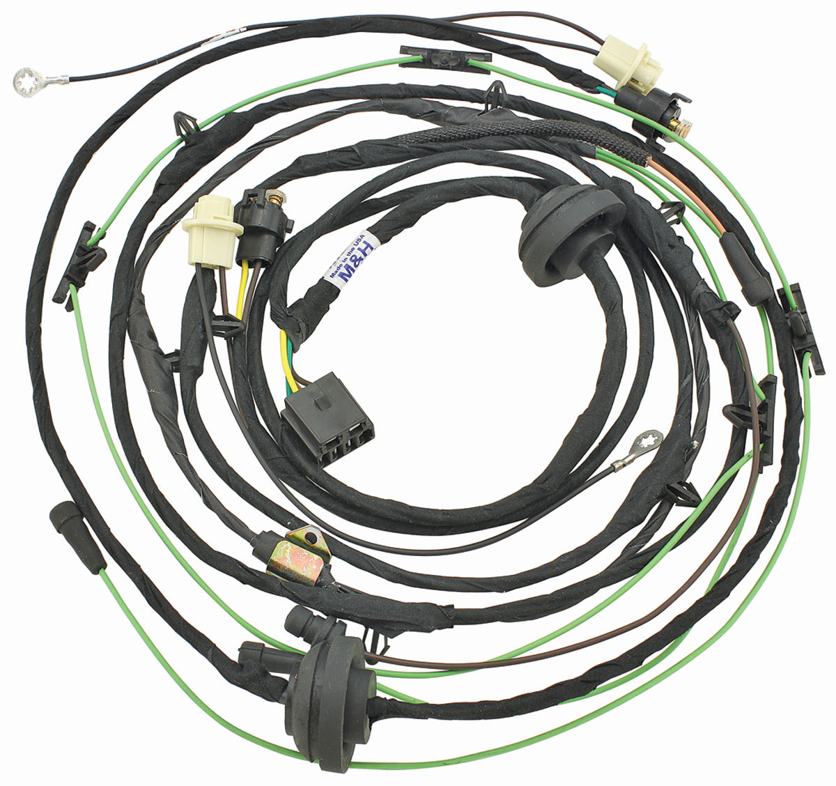 1964 cadillac wiring harnes [ 1200 x 1128 Pixel ]