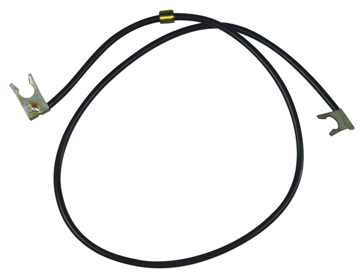 1964-73 GTO Distributor Wire Points To Negative Terminal