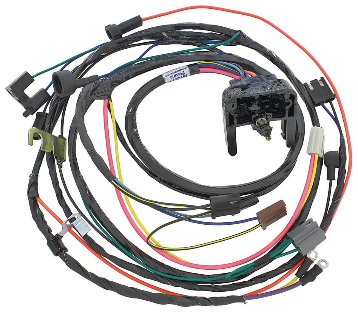 M&H 1970 Chevelle Engine Harness 396454 HEI wManual Trans @ OPGI