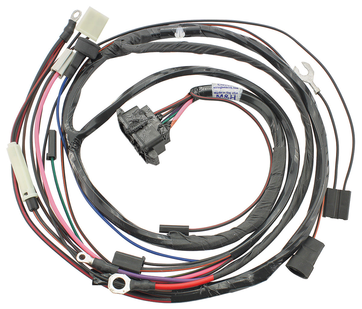 medium resolution of 1967 gto engine harness for hei ignition v8 w ac si series int
