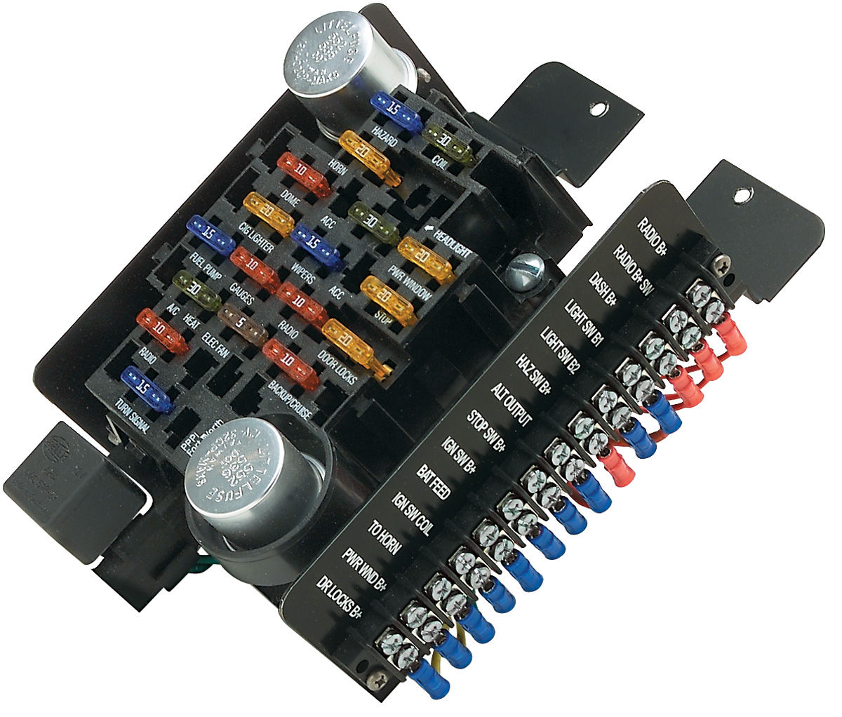 1972 chevelle ignition wiring diagram free vehicle expense log template painless performance 1961-1977 cutlass/442 circuit fuse block 20-circuit @ opgi.com