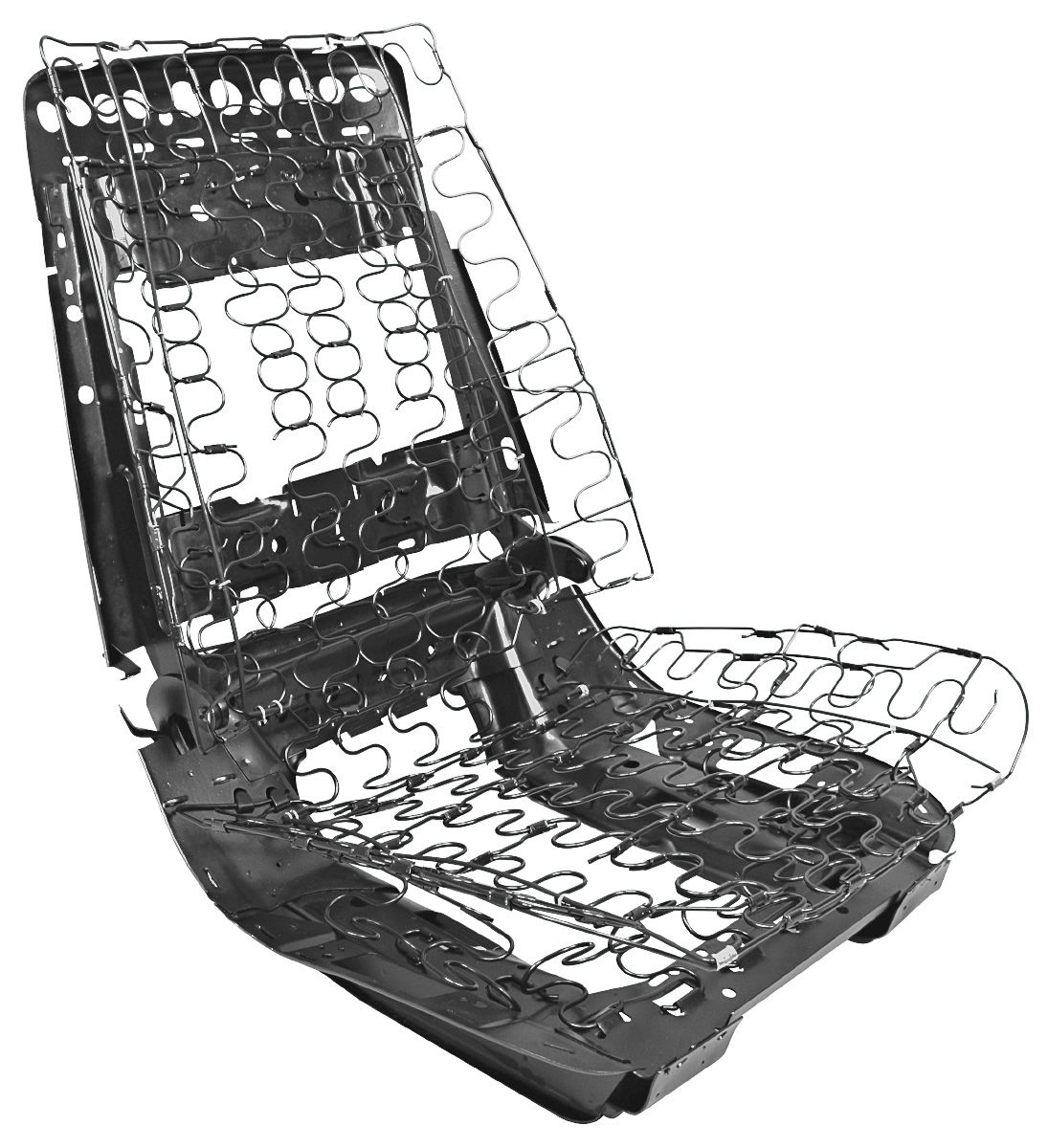 1969-72 Chevelle Seat Frame Assembly (Bucket Seat), by