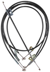1964-65 Chevelle Heater & Air Conditioning Control Cable 4