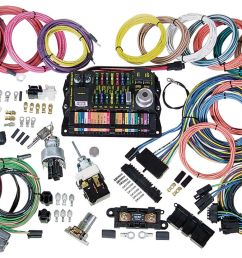 american autowire wiring harness kit highway 22 fits 1978 88 el camino opgi com [ 1200 x 719 Pixel ]