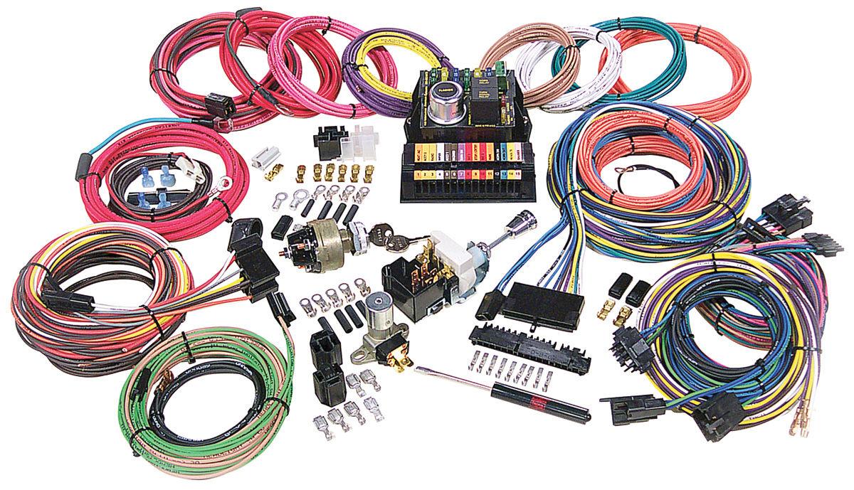 american autowire 1961 77 cutlass 442 wiring harness kit highway 15 [ 1200 x 689 Pixel ]