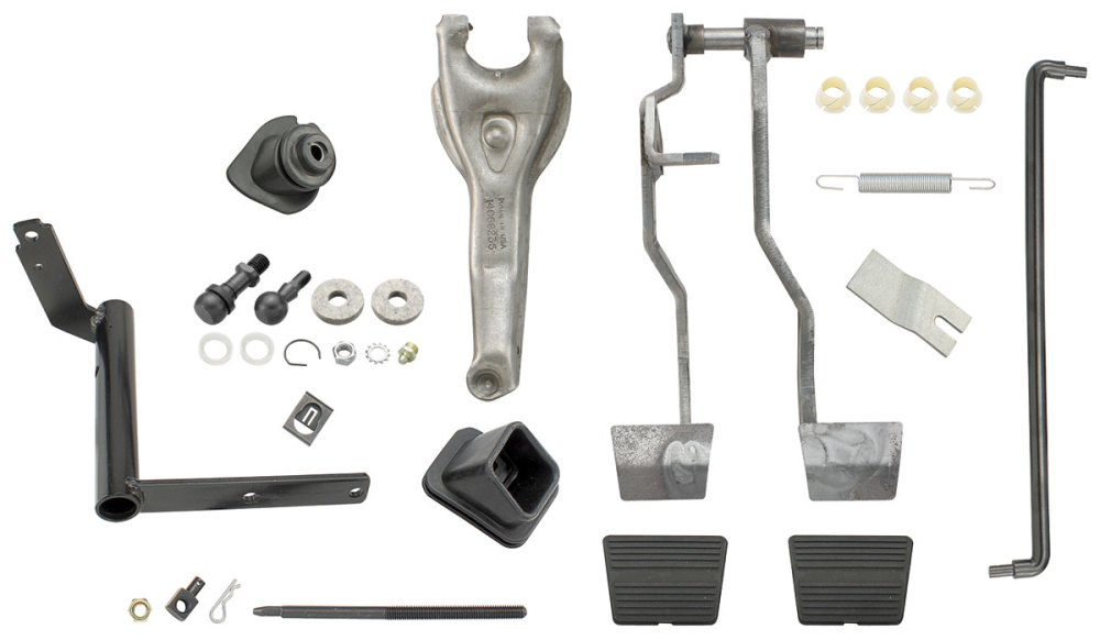 medium resolution of el camino clutch linkage kit complete small block tap to enlarge