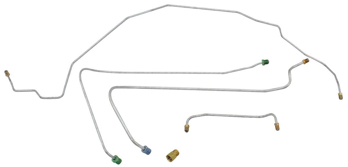 1968-72 Chevelle Disc Brake Conversion Lines Big-Block