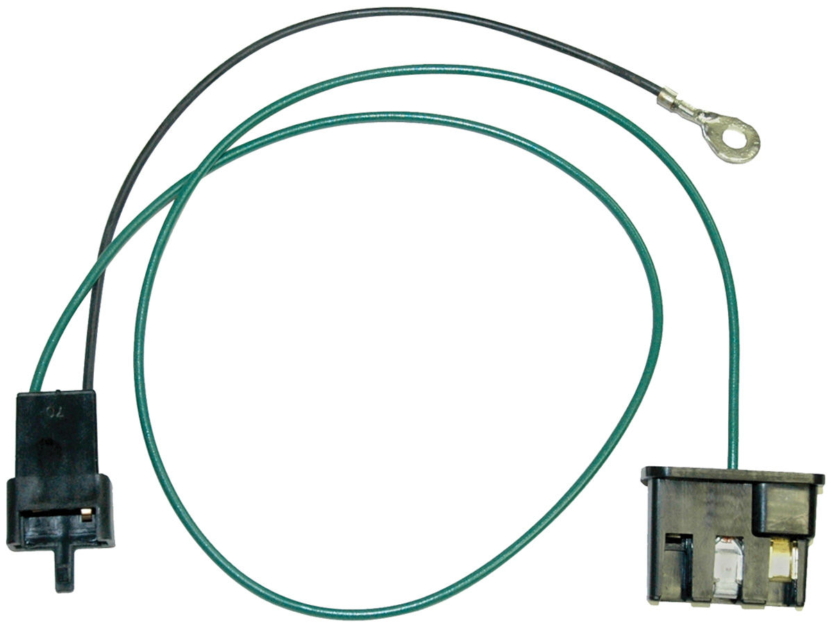 small resolution of 1963 67 lemans speaker wire harness dash