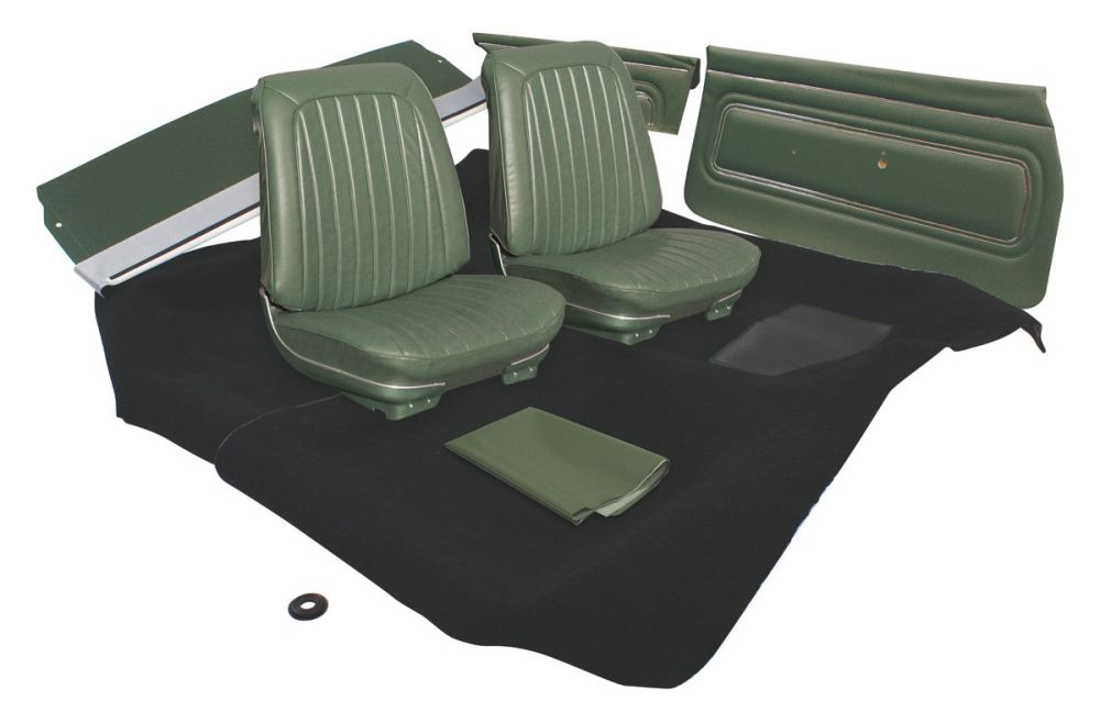 medium resolution of gto interior kit stage i coupe fits 1969 gto