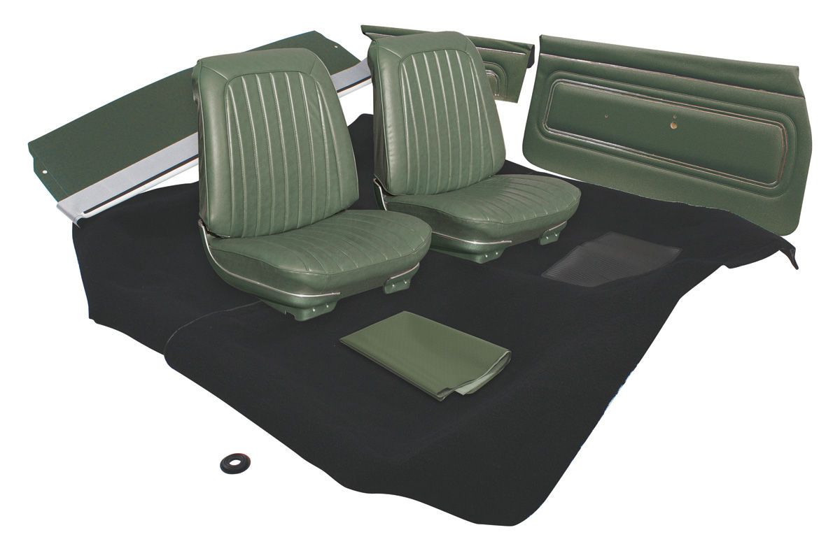 hight resolution of gto interior kit stage i coupe fits 1969 gto
