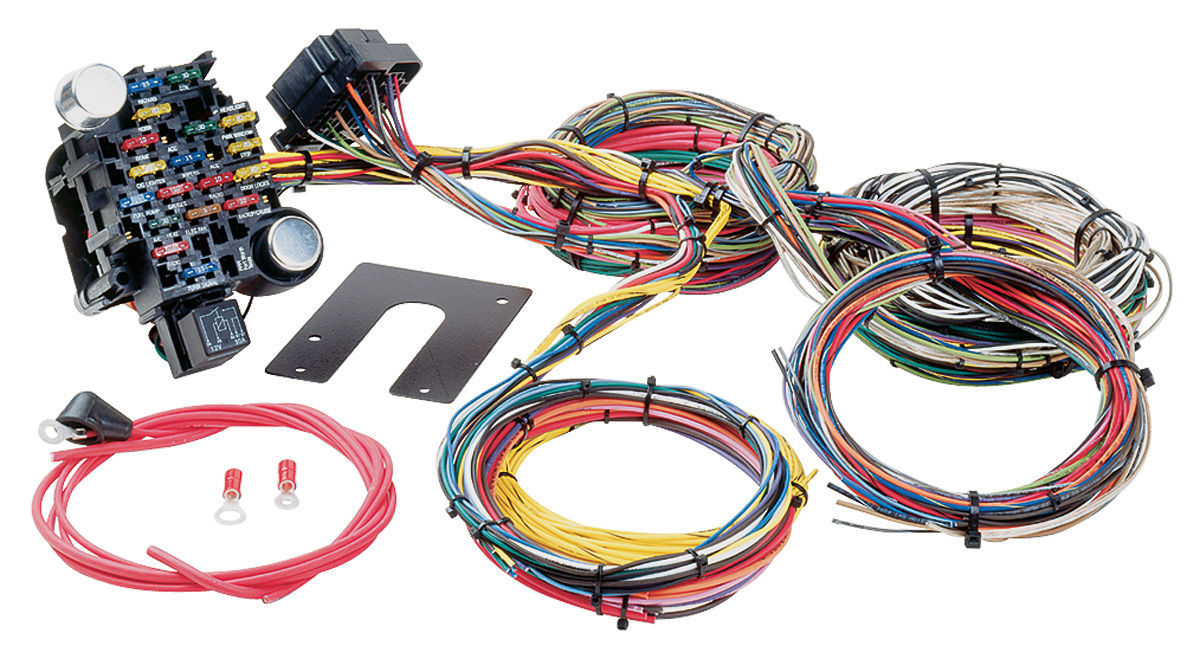hight resolution of 1964 72 skylark muscle car harness universal style 28 circuit classic plus