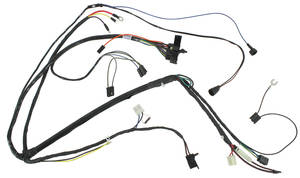 1970 GTO Engine Harness V8 Manual, by M&H @ OPGI.com