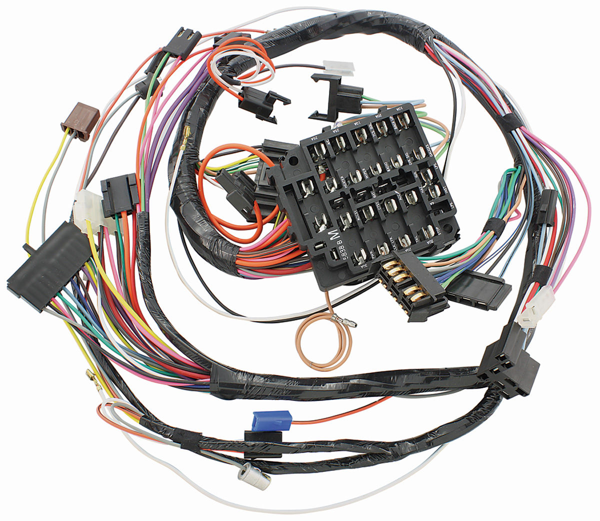mh wiring harnesses wiring diagrams detailed on 1966 pontiac wiring diagram 1957 pontiac wiring  [ 1200 x 1041 Pixel ]