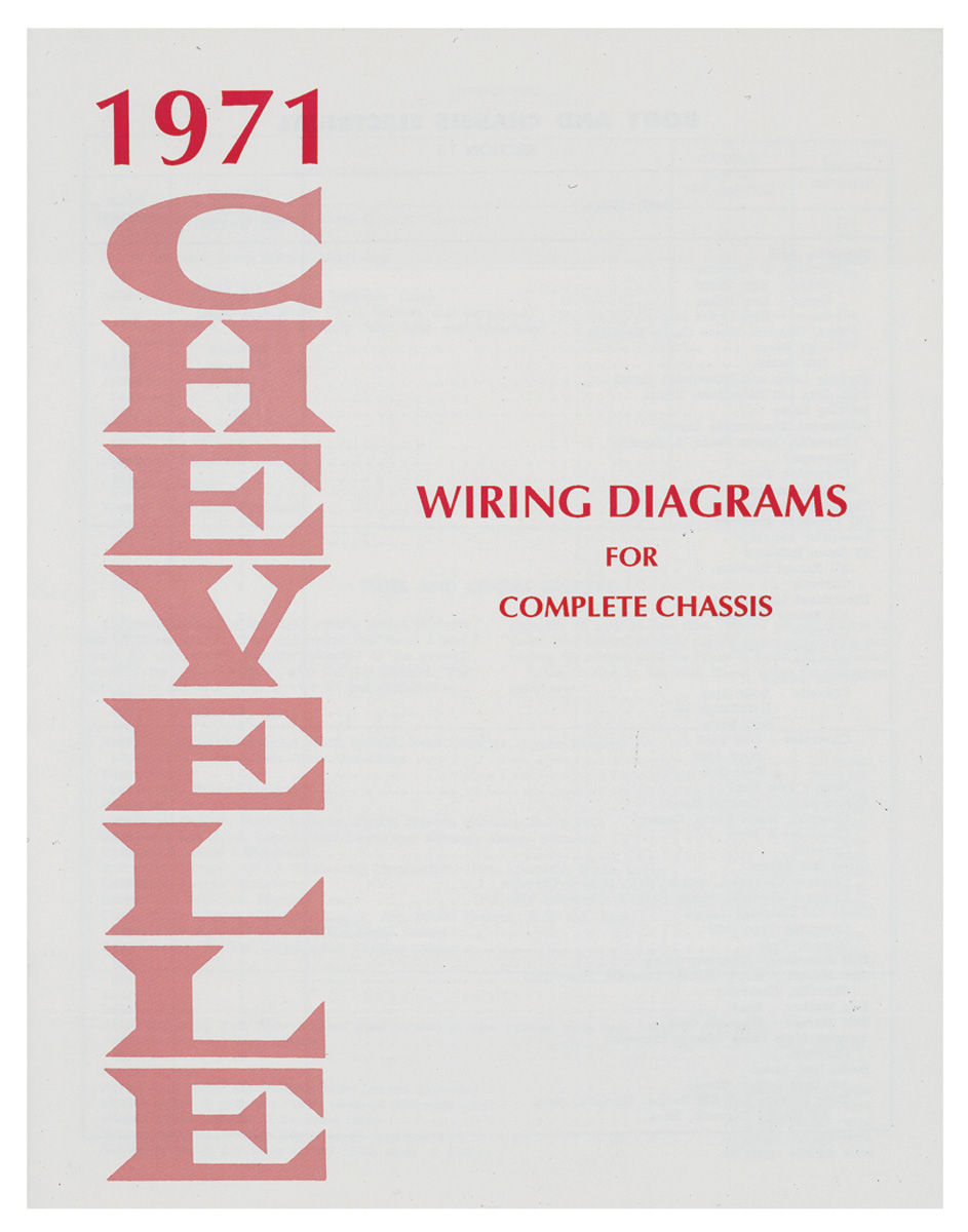 small resolution of 1971 chevelle wiring diagram