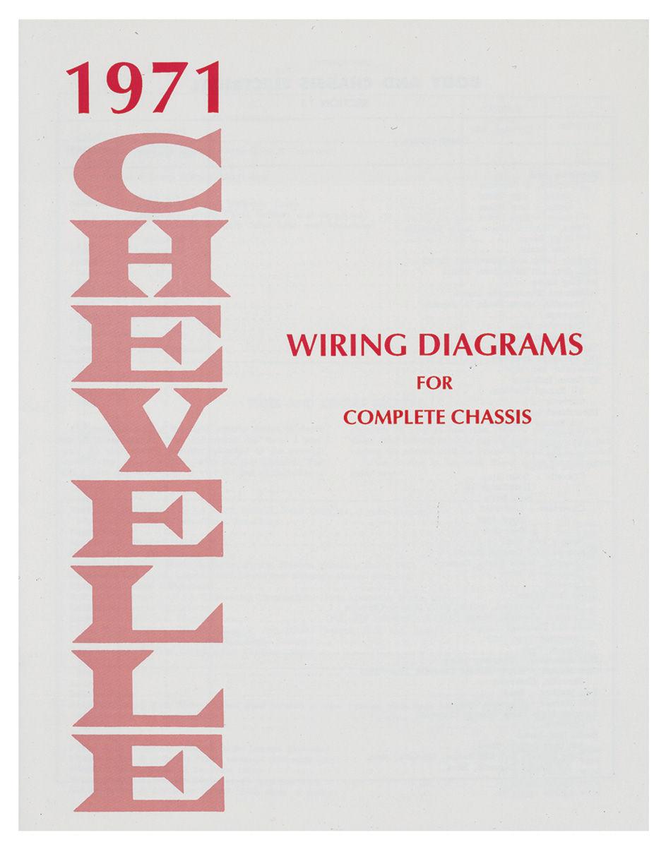 hight resolution of 1971 el camino wiring diagram