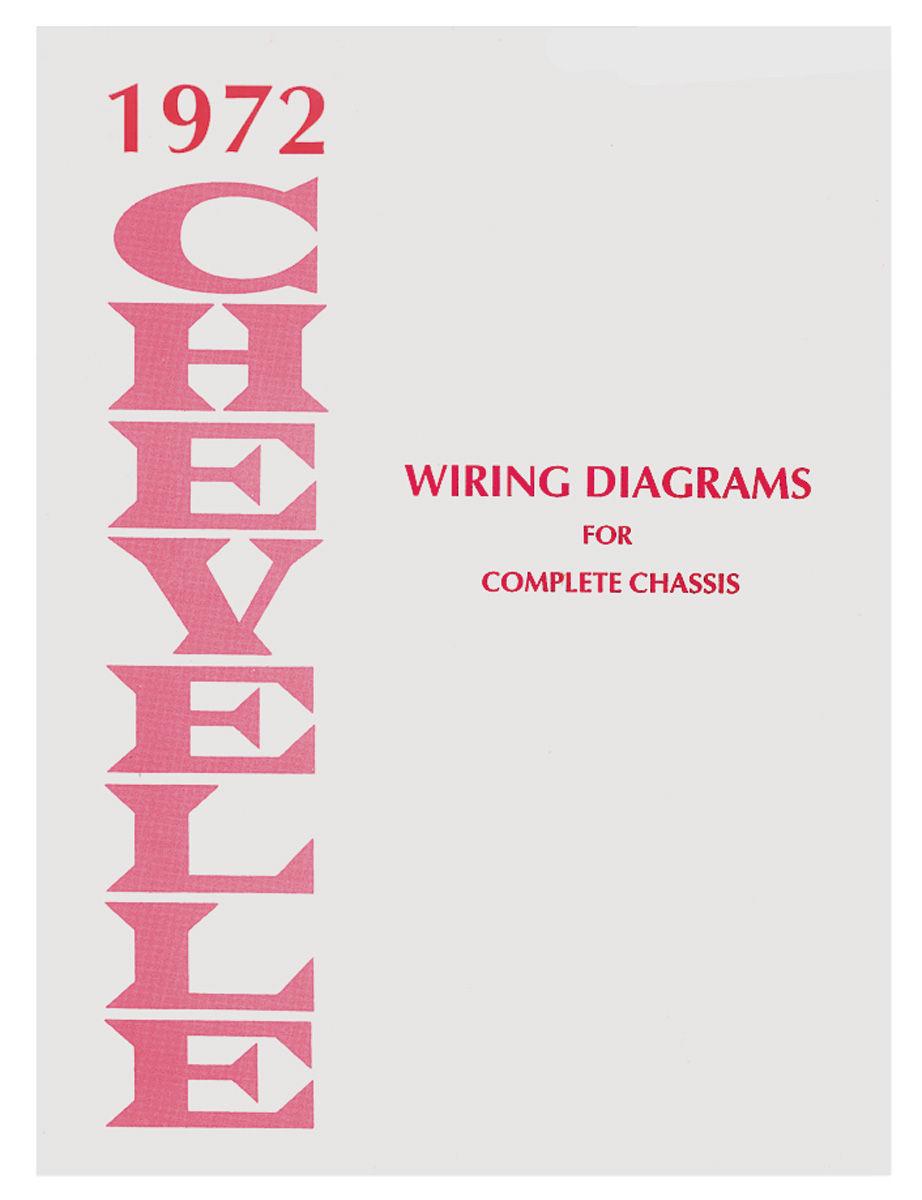 hight resolution of chevelle wiring diagram manuals fits 1972 el camino opgi com on 87 el camino