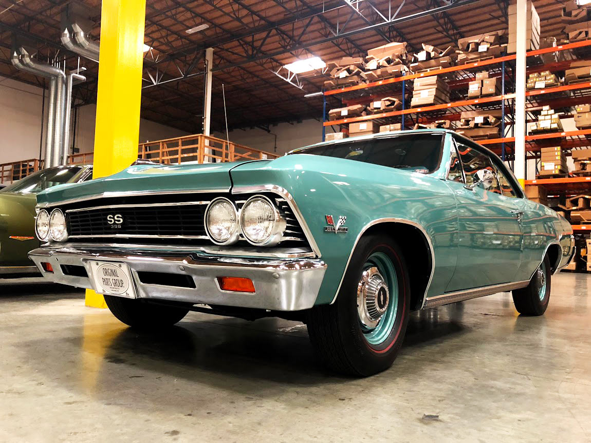 hight resolution of why the original parts group s 1966 ss396 chevelle has so many rare options will forever remain