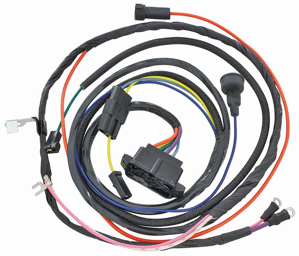 medium resolution of m h 1966 el camino engine harness 396 w warning lights 1967 el camino wiring harness 1967