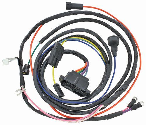 small resolution of m h 1966 el camino engine harness 396 w warning lights 1967 el camino wiring harness 1967
