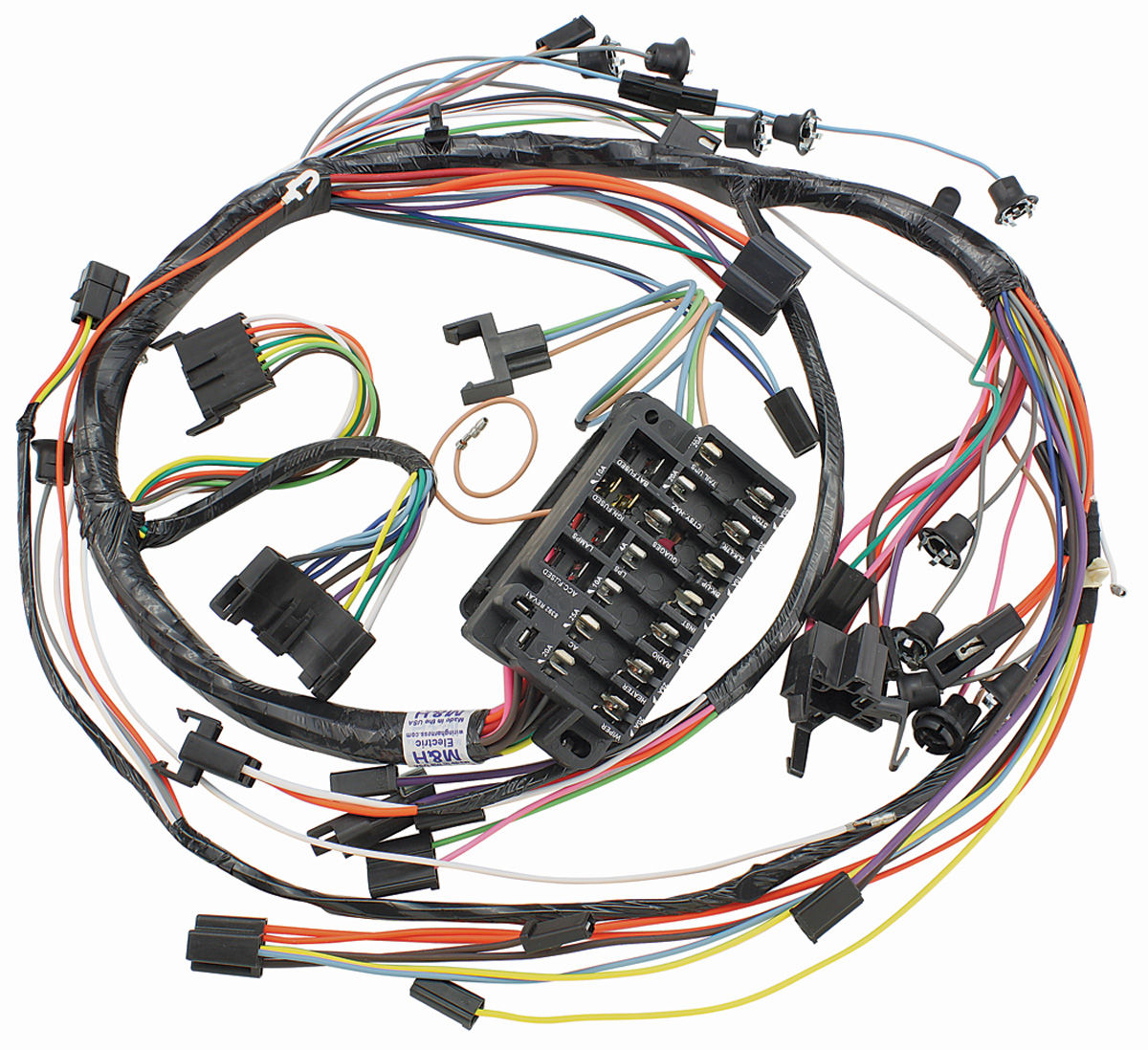 hight resolution of 1967 chevelle dash wiring harness
