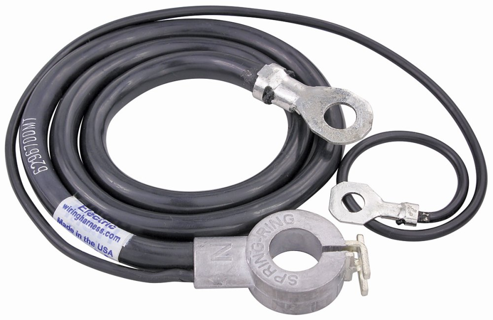 medium resolution of 1968 chevelle battery cable spring ring negative v8 396