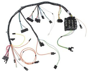 M&H DashInstrument Panel Harness manual transmission Fits 1968 Cutlass442 @ OPGI