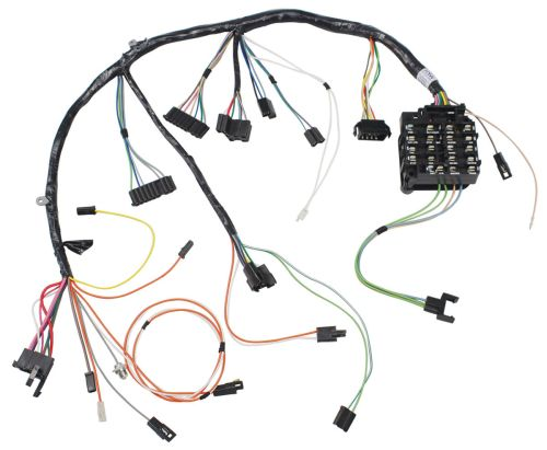 small resolution of 1968 cutlass 442 dash instrument panel harness manual transmission