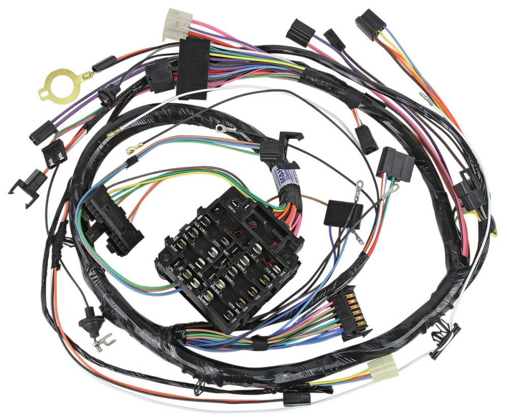 medium resolution of 1972 monte carlo wiring harnes