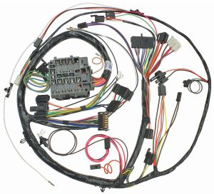 M&H 1971 Chevelle DashInstrument Panel Harness All, Round