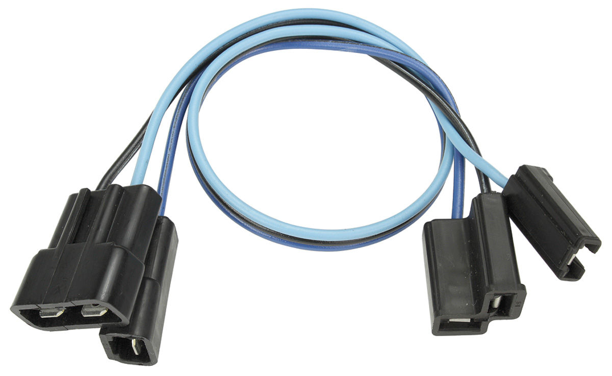 hight resolution of chevelle wiper motor extension harness 2 speed tap to enlarge