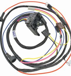 m h 1968 69 chevelle engine harness 396 hei w warning 2008 cadillac cts headlight wiring harness [ 1200 x 1160 Pixel ]