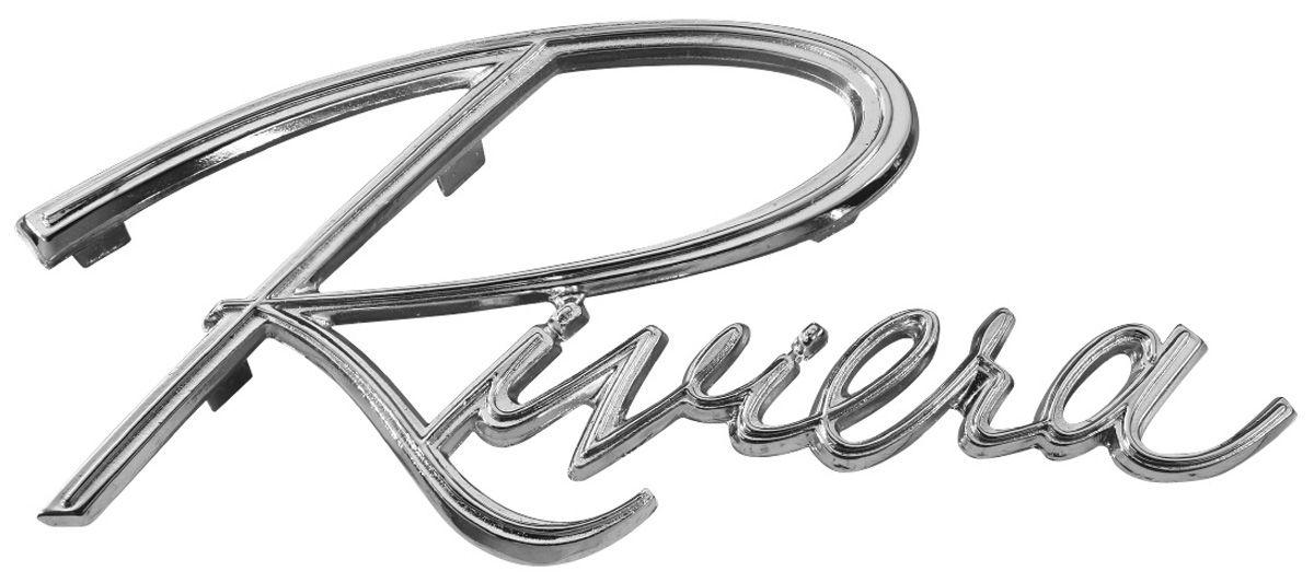 Rear Panel Emblem, 1965