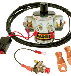 painless performance master disconnect switch w latching solenoid [ 1200 x 1035 Pixel ]