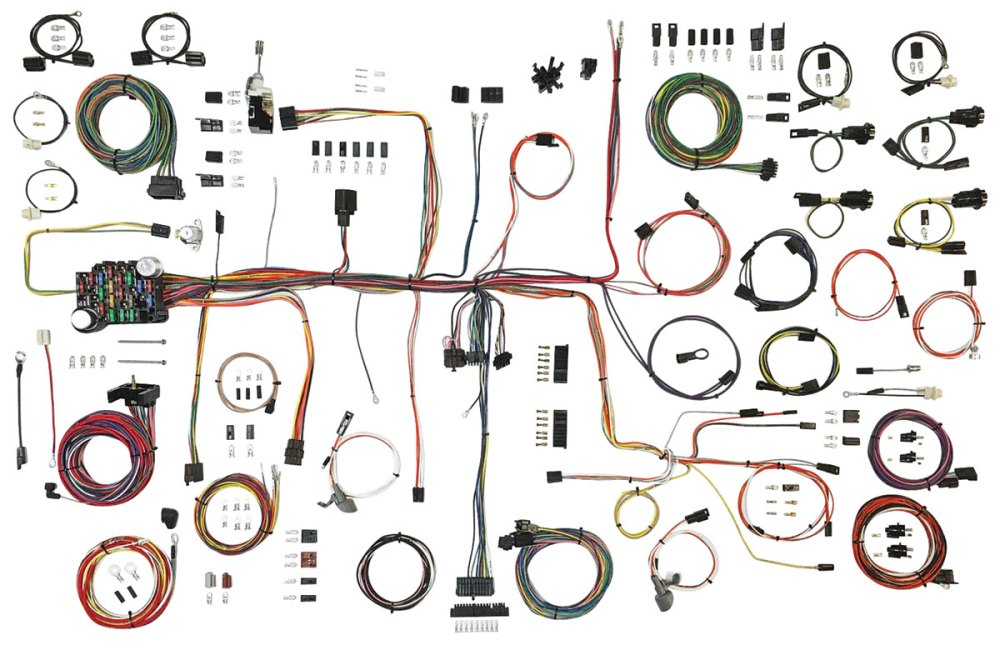 medium resolution of cutlass 442 wiring harness american autowire classic update kit tap to enlarge