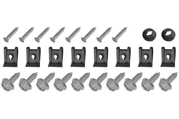 Cutlass/442 Hardware Kits, 1968-72 Headlight Housing Fits