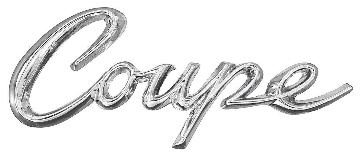 Eldorado Quarter Panel Emblem, 1963-64