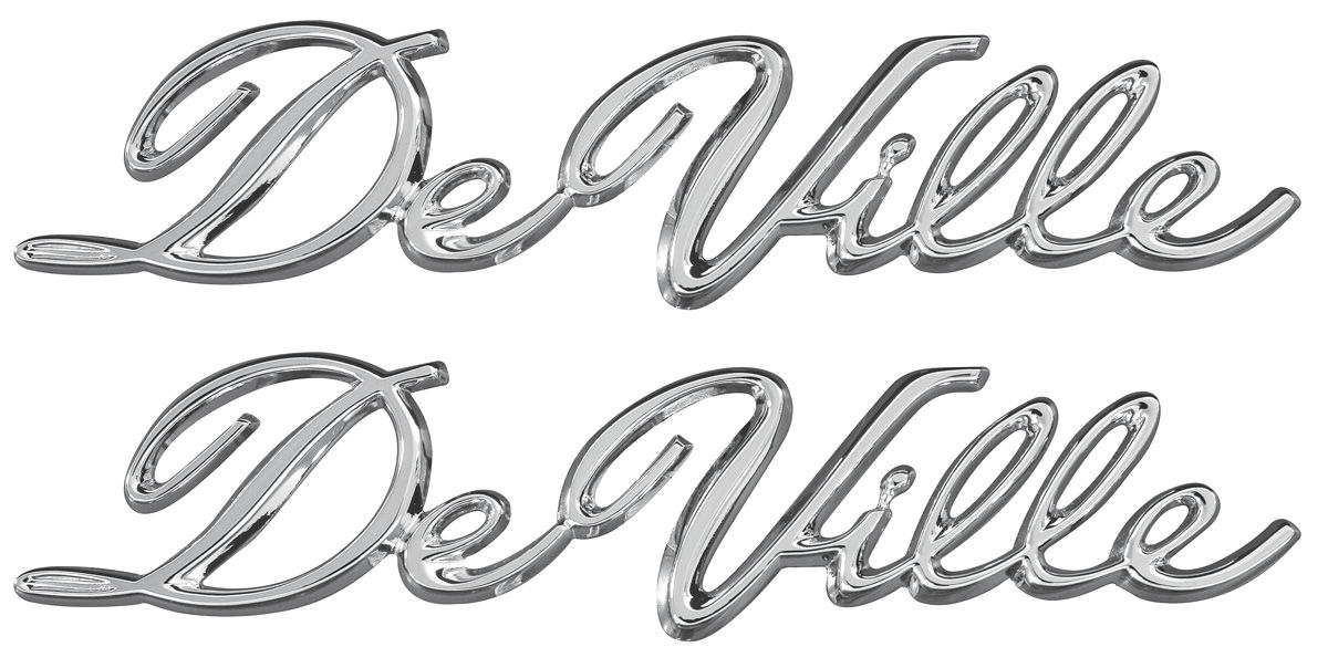 TRIM PARTS Cadillac Quarter Panel Emblem, 1965-70