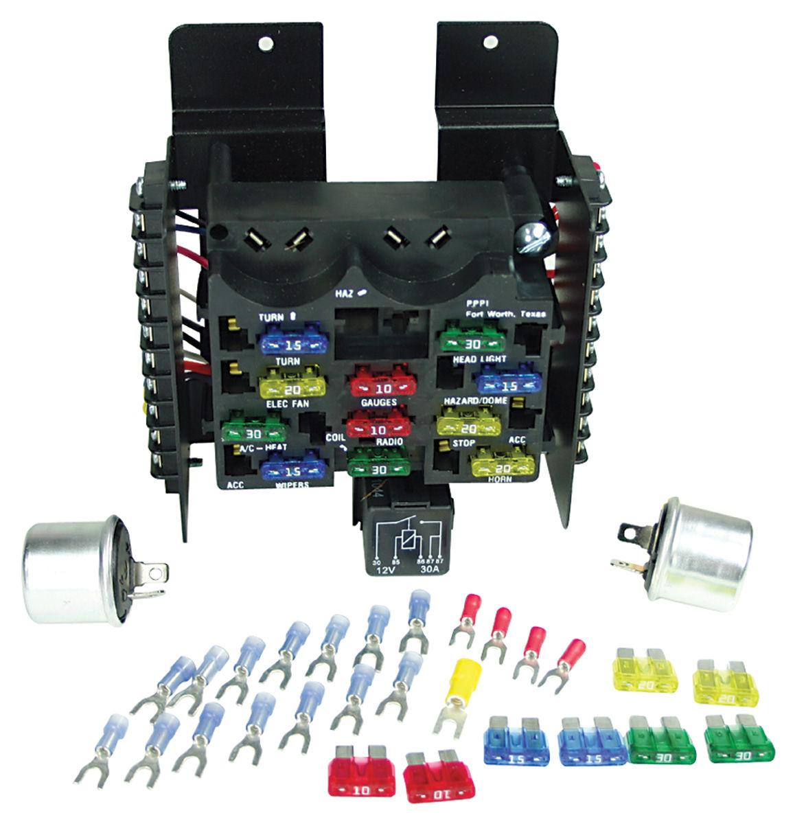 1966 vw bus wiring diagram for pioneer radio painless performance 1961-72 gto circuit fuse block 14-circuit @ opgi.com