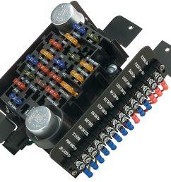 1964 1977 chevelle circuit fuse block 20 circuit [ 1200 x 1022 Pixel ]