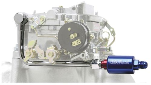 small resolution of photo of carburetor fuel line filter kit performer series blue red filter click to enlarge