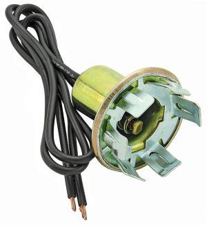 RESTOPARTS 196468 El Camino Light Socket, Turn Signal 2Wire, Fits 118