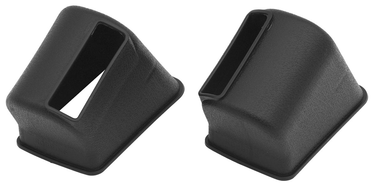 El Camino Seat Belt Retractor Covers Robbins 6715 37x2x2