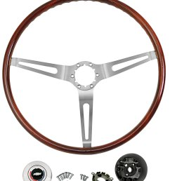 el camino steering wheel kits mahogany wood illustrative only tap to enlarge [ 988 x 1200 Pixel ]