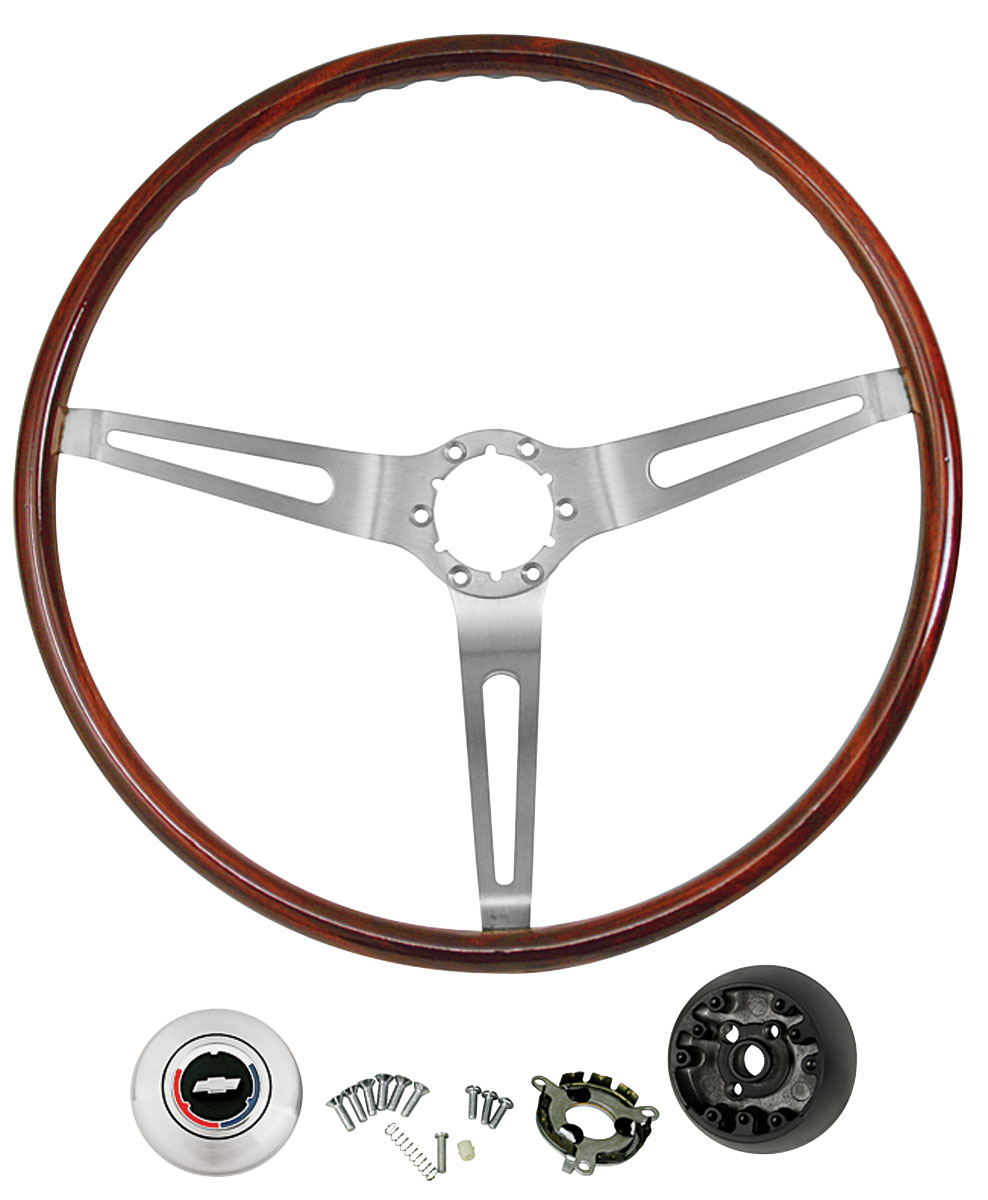 hight resolution of el camino steering wheel kits mahogany wood illustrative only tap to enlarge
