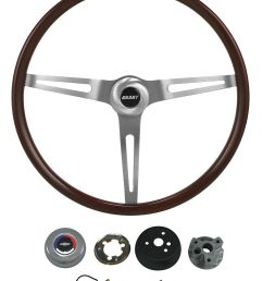 el camino steering wheel kits classic wood tap to enlarge [ 919 x 1200 Pixel ]