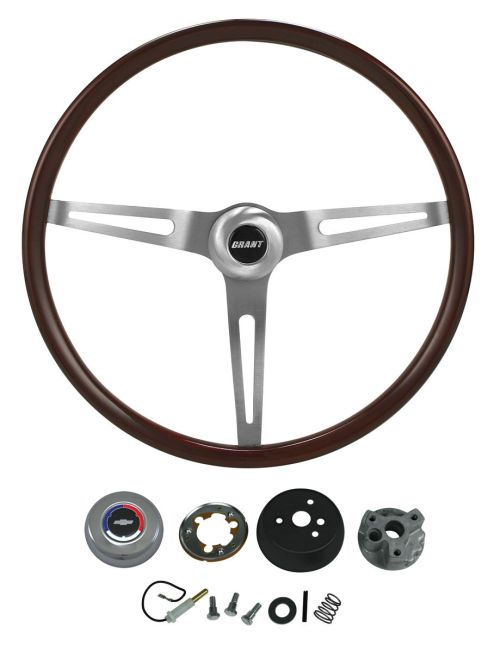 small resolution of el camino steering wheel kits classic wood tap to enlarge