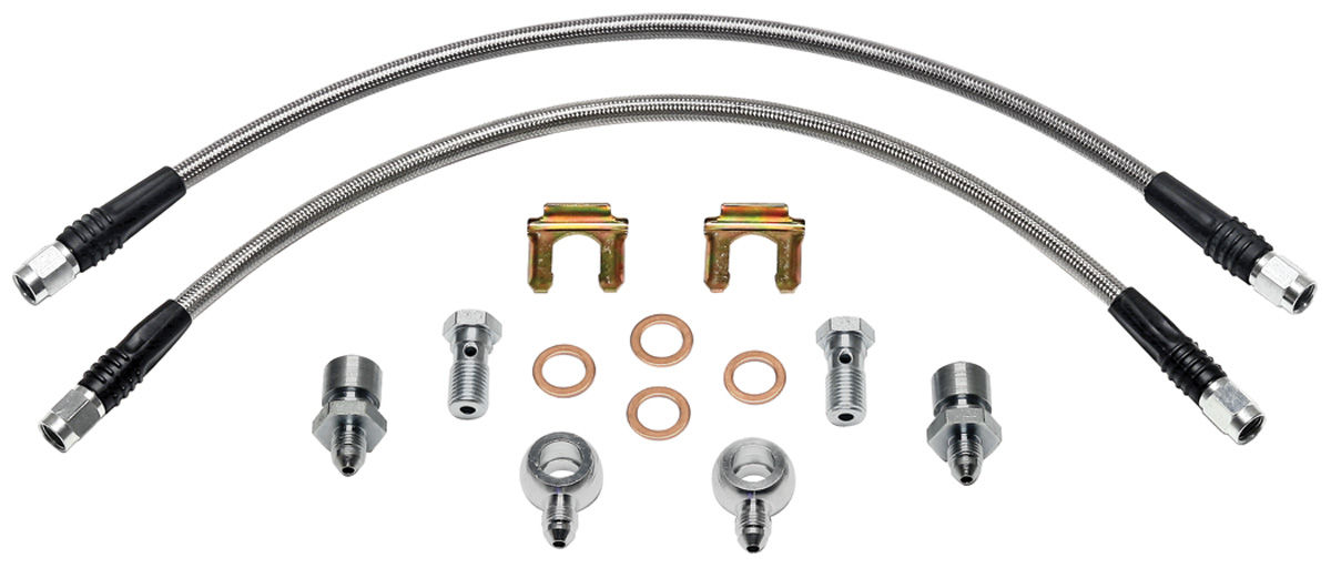 Wilwood 1964-72 Chevelle Brake Lines for D52 Calipers