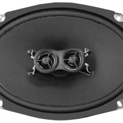 Dual Voice Coil 6x9 Hyper V Visio Diagram Cadillac Replacement Speakers