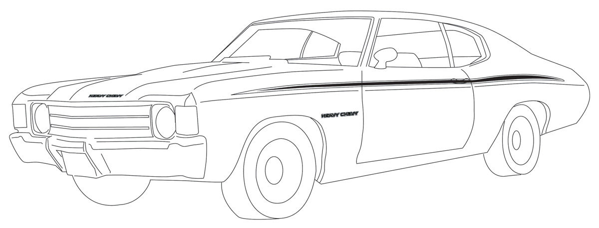 Free 1967 chevelle ss coloring pages