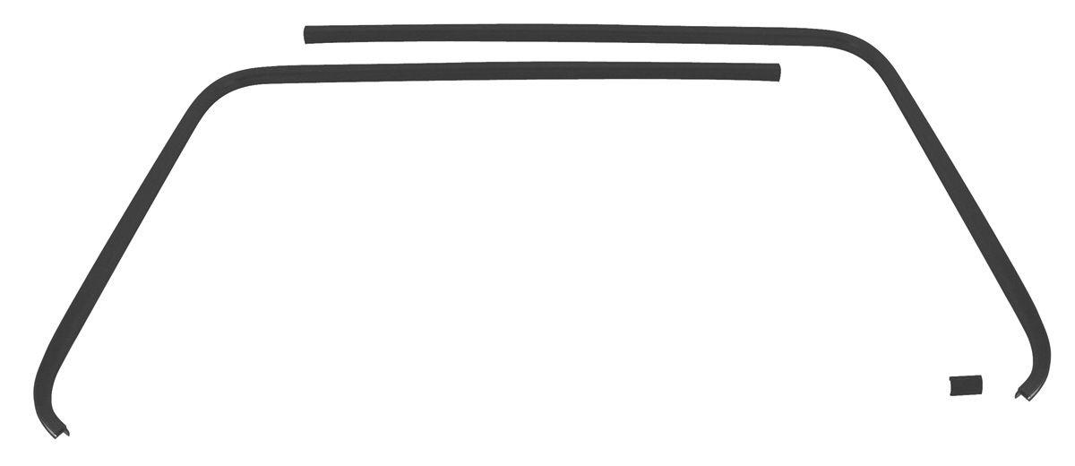 RESTOPARTS Headliner Seal Strip, Plastic Interior Rear